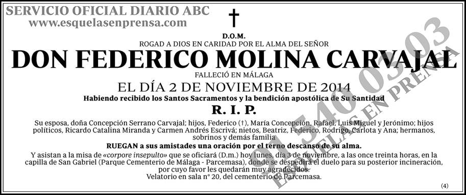 Federico Molina Carvajal
